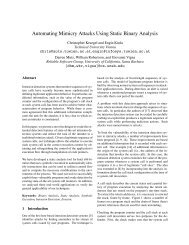 Automating Mimicry Attacks Using Static Binary Analysis