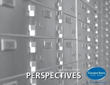 PERSPECTIVES - Greater Iowa Credit Union