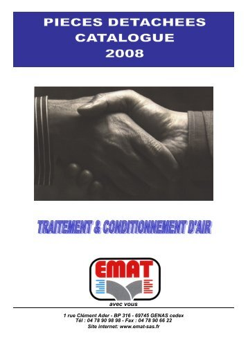 1 couverture tarif pd trait. air - EMAT