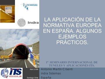 01 la normativa europea de seguridad en tuneles. - ITS Chile