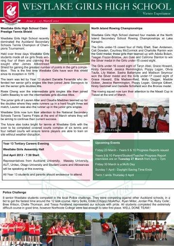 (2012) PDF - Westlake Girls High School