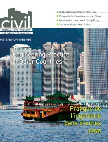 2013 Spring issue 30.1 - CSCE • Canadian Society for Civil ...