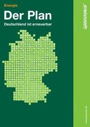 Der Plan: Deutschland ist erneuerbar - Greenpeace Gruppen in ...