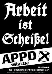 Plakate - APPD-Berlin