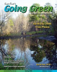 Earth Day 2008: Trees Please. - Going Green