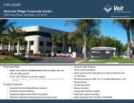 Sorrento Ridge Corporate Center - Voit Real Estate Services