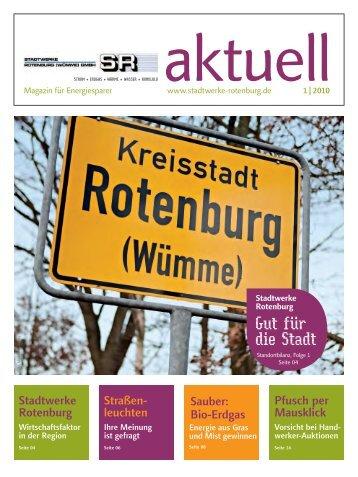 Ausgabe 01/2010 - Stadtwerke Rotenburg