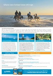 Where sea horses have stirrups - Queensland Holidays