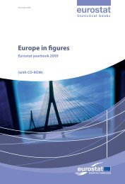 Europe in figures - Eurostat yearbook 2009 (with CD-ROM) - Europa