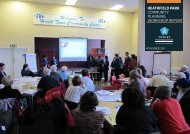 HeatHfield PaRK community planning workshop report