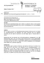 raadsvoorstel Schuldhulpverlening gemeente Noordenveld 1-7-2012