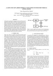 a low-cost gps aided inertial navigation system for vehicle ... - Eurasip