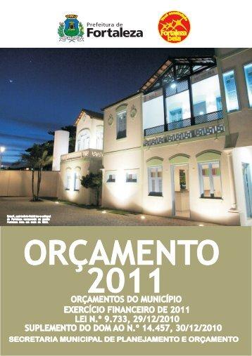 LOA 2011 - Prefeitura Municipal de Fortaleza