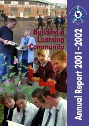 Annual Report 2001~ 2002 - Belfast Education & Library Board