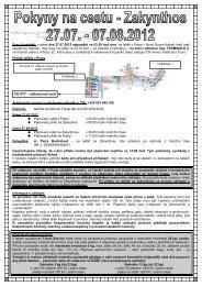 Sraz účastníků: v pátek dne 27.07.2012 nejpozději ve 03:30 ... - VTT