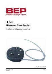 Ultrasonic Tank Sender