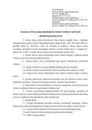 bendrabučio vidaus tvarkos taisyklės - Vilniaus lietuvių namai