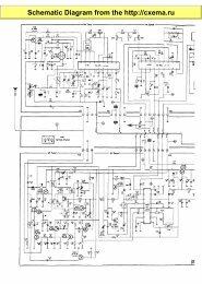 Schematic Diagram from the http://cxema.ru