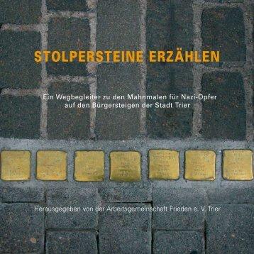 stolpersteine erzählen - Homepage des Fachs Geschichte der ...