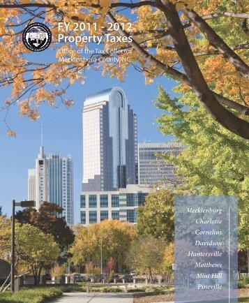2011-2012 Tax Brocure.pdf - Charlotte-Mecklenburg County