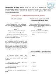 Vai al testo del decreto Iva-Lavoro con l'emendamento ... - LeggiOggi