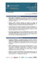 3er Trimestre Panorama TIC en América Latina ... - N-Economía