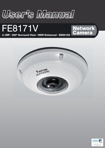 Vivotek FE8171 User Manual - Use-IP