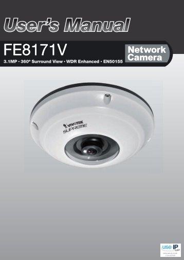Vivotek FE8171 User Manual - Use-IP