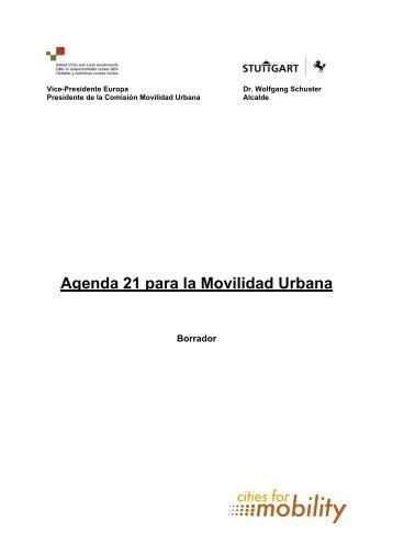 Agenda 21 para la Movilidad Urbana - UCLG