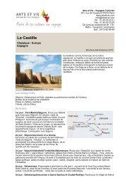 La Castille - Arts et Vie