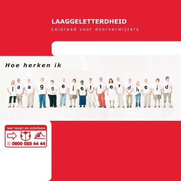 Leidraad voor doorverwijzers - Landelijke campagne Alfabetisering ...