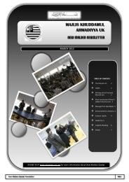majlis khuddamul ahmadiyya uk new malden newsletter