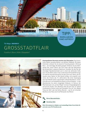 GROSSSTADTFLAIR - TUI FlussGenuss