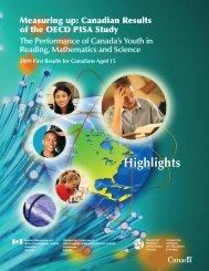 PISA 2009 - Government of Prince Edward Island