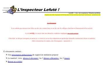 L'inspecteur Lefuté ! - Instit90