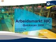 Arbeidsmarkt Quick Scan 2009 - Port of Rotterdam
