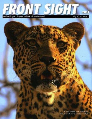July 2009, Issue 7 - Mid Michigan Chapter Safari Club International