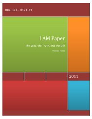 I AM Paper - PG Youth