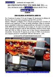 Capitolo 058° I Parte Ho provato la Br 39 115 DRG.pdf - 3Rotaie.it