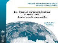 Energie pour l'eau - Euromedina