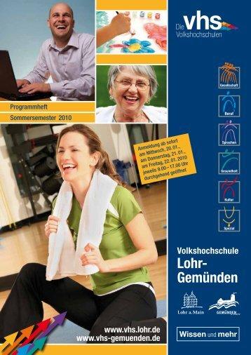 Lohr- Gemünden - Vhs.lohr.de - Lohr a. Main
