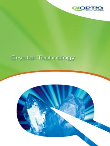 Crystal Technology - Qioptiq Q-Shop
