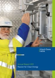 Annual Report 2011 - Hitachi Zosen Inova AG