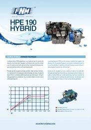 HPE 190 HYBRID - Fnm Marine