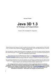 Java 3D 1.3