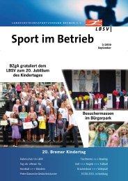 3 6 Sport im Betrieb - LBSV Bremen
