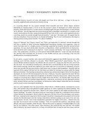 WUNA NEWS - Urban University Interface.com