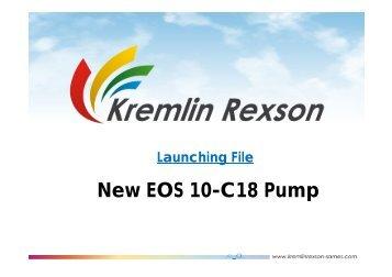 New EOS 10-C18 Pump - Epacnz.co.nz