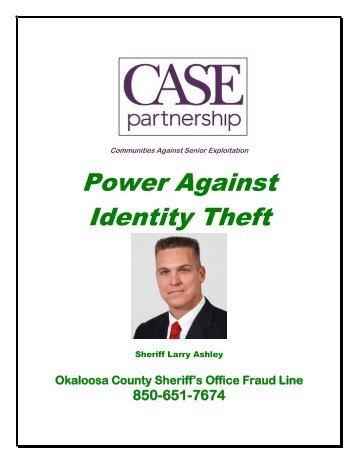 Oct. 11 - ID Theft Handbook OCSO Sheriff Ashley 2012 - Okaloosa ...