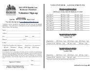 Volunteer Sign-up - Rochester Marathon